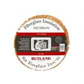 Rutland RD-105 Fiberglass Fireplace Insert Insulation, 1.5-Inch x 10 Ft