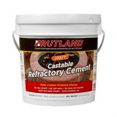 Rutland RD-600 Castable Refractory Cement, 12.5 LB Tub