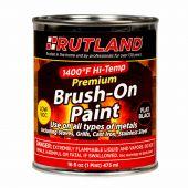 Rutland RD-81V 1400 Degree F Brush On Premium High Temp Paint, Low VOC, 16 fl oz