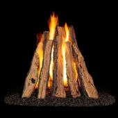 Real Fyre Charred Evergreen Vented Gas Log Set