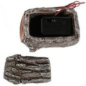 Rasmussen RH2 Ceramic Log House for Remote Receivers