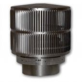 Superior Round Top Termination with Louvered Screen for 12-Inch Chimney (RLT-12D)