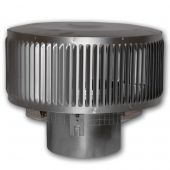 Superior Round Top Termination with Louvered Screen for 8-Inch Chimney (RLT-8DM)