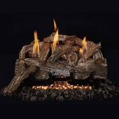 Grand Canyon Red Oak Vent Free Gas Log Set