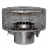 Superior Round Top Termination with Mesh Screen for 8-Inch Chimney (RT-8DM)