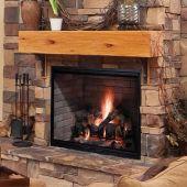 Majestic SB60 Biltmore 36-Inch Radiant Wood Burning Fireplace
