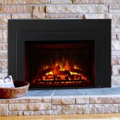 SimpliFire SF-INS30-BK 30-Inch Electric Insert Fireplace