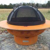 Fire Pit Art Spark Guard, 27.5 Inches