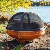 Fire Pit Art Spark Guard, 34.5 Inches