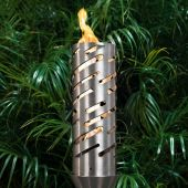 Top Fires by The Outdoor Plus OPT-TCH21xSS Shooting Star Top-Lite Torch
