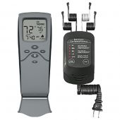 Skytech SKY-3301-FSCRF Timer/Thermostat Fireplace & Electronic Fan Speed Remote Control