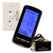 Skytech 5301 Timer/Thermostat Fireplace Remote Control with Backlit Touch Screen