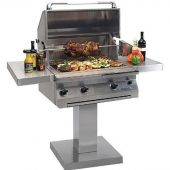 Solaire 30-Inch Grill on Bolt-Down Post with Rotisserie (AGBQ-30-BDP)