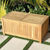 Royal Teak Collection STBXL Teak Storage Box