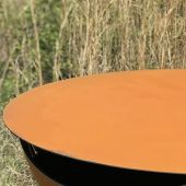 Fire Pit Art SteelTop-43 43-Inch Round Fire Pit Table Top