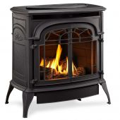 Monessen SD30 Sundance Vent-Free Gas Stove with 3-Piece Log Set