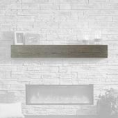 GreatCo GWCT-72 Cedar Wash Finish Supercast Wood Mantel, 72-Inch