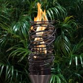 Top Fires by The Outdoor Plus OPT-TCH24xSS Tangled Top-Lite Torch