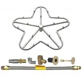 Spotix Penta HPC Match Lit Fire Pit Burner Torpedo Kits