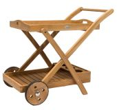 Royal Teak Collection TTC Teak Tray Cart