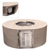 Hearth Products Controls UST60R-Config Round Fire Pit Enclosure Kit with Propane Door