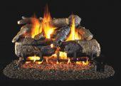 Real Fyre CHAO Charred American Oak Vented Gas Log Set