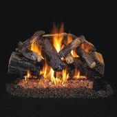 Real Fyre CHMJ Charred Majestic Oak Stainless Steel Vented Gas Log Set