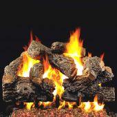 Real Fyre CHB Charred Royal English Oak Vented Gas Log Set, ANSI Certified
