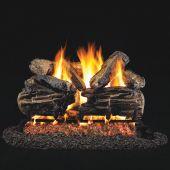 Real Fyre Charred Split Oak Vented Gas Log Set, ANSI Certified