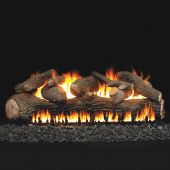 Real Fyre Mammoth Pine Vented Gas Log Set