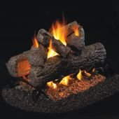 Real Fyre Golden Oak Vented Gas Log Set
