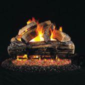 Real Fyre S Split Oak Stainless Steel Vented Gas Log Set, ANSI Certified