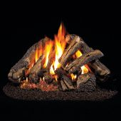 Real Fyre WCF Western Campfyre Stainless Steel Vented Gas Log Set, ANSI Certified