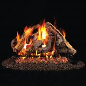 Real Fyre WS Woodstack Stainless Steel Vented Gas Log Set, ANSI Certified