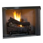 Superior 50-Inch Vent-Free Outdoor Gas Firebox with Vent-Free Gas Log Set (VRE4550)