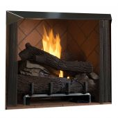 Superior 50-Inch Vent-Free Outdoor Masonry Gas Firebox with 36-Inch Gas Log Set (VRE6050)