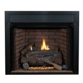 Superior VRT4036 36-Inch Vent-Free Gas Fireplace with Concrete Logs