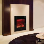 Amantii Zero Clearance Series Built-In Electric Fireplace with Ember Media Kit