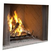 Superior 42-Inch Outdoor Wood Burning Fireplace (WRE4542)