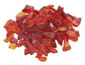 Dagan DG-GLL-ORANGE 1/2 - 3/4-Inch Fire Glass, 10, Orange