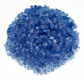Rasmussen GLX-CB Cobalt Blue Fire Glass, 10-Pounds