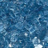Hearth Products Controls 1/4 Inch Decorative Fire Glass, 10 Pounds, Pacific Blue
