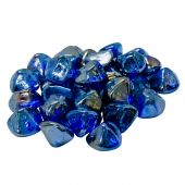Real Fyre GLD-10-PB Pacific Blue Diamond Nuggets, 10 Pounds