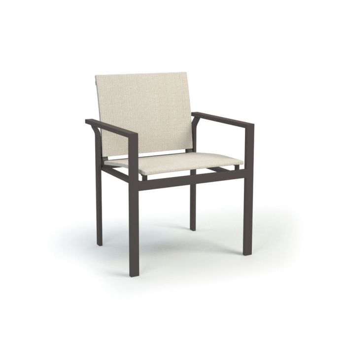 Homecrest Allure Aluminum Dining Chair, 24.5x21-Inches