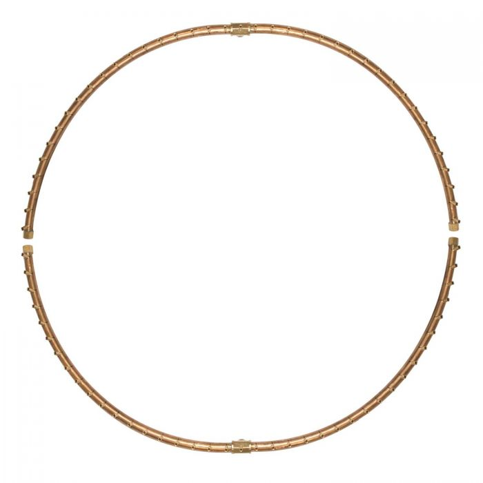 Warming Trends Crossfire Radial Full-Circle Brass Fire Pit Burner