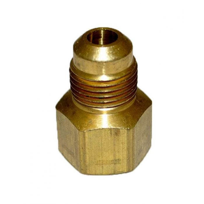 HPC Adaptor Brass Fitting, 3/8-Inch Tube, 3/8-Inch FIP