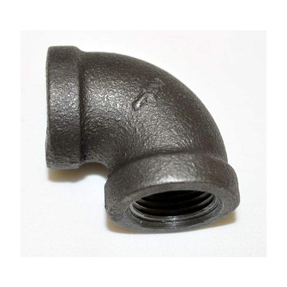 HPC Black Iron Elbow, 1/2-Inch