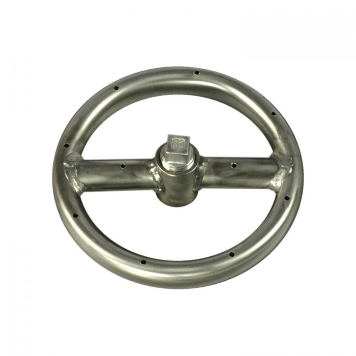 Fire by Design FBD-FRS Round Stainless Steel Gas Fire Pit Burner