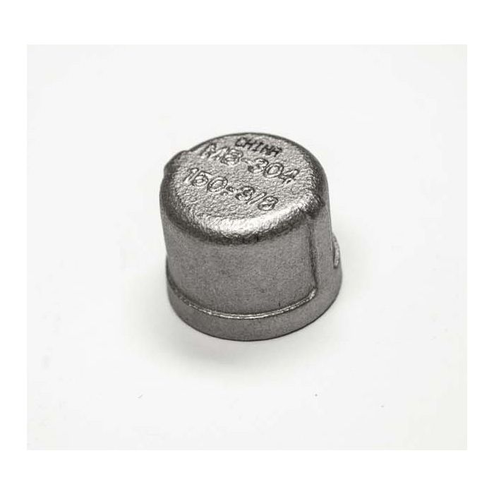 Hearth Products Controls 673 Stainless Steel Gas Line Cap, 3/8-Inch