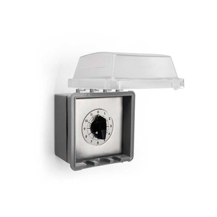 Hearth Products Controls 695-NEMA Commercial Outdoor 12 Hour Automatic Shut Off Timer with NEMA Enclosure
